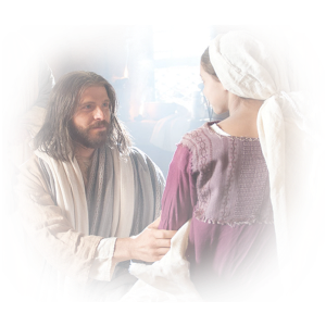 jesus healing hand