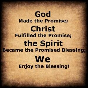 blessing poster