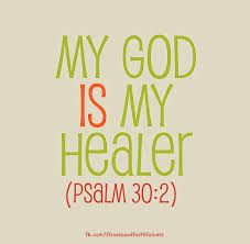 god is my healer