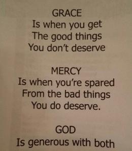grace definition
