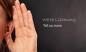 we arre listening